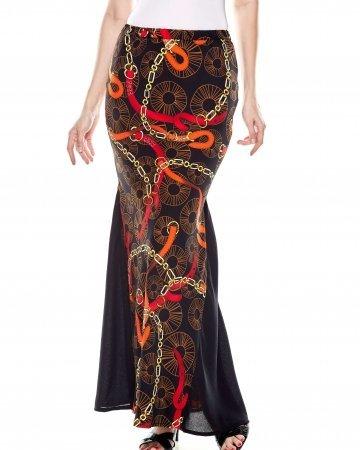 Black Chain Mermaid Skirt