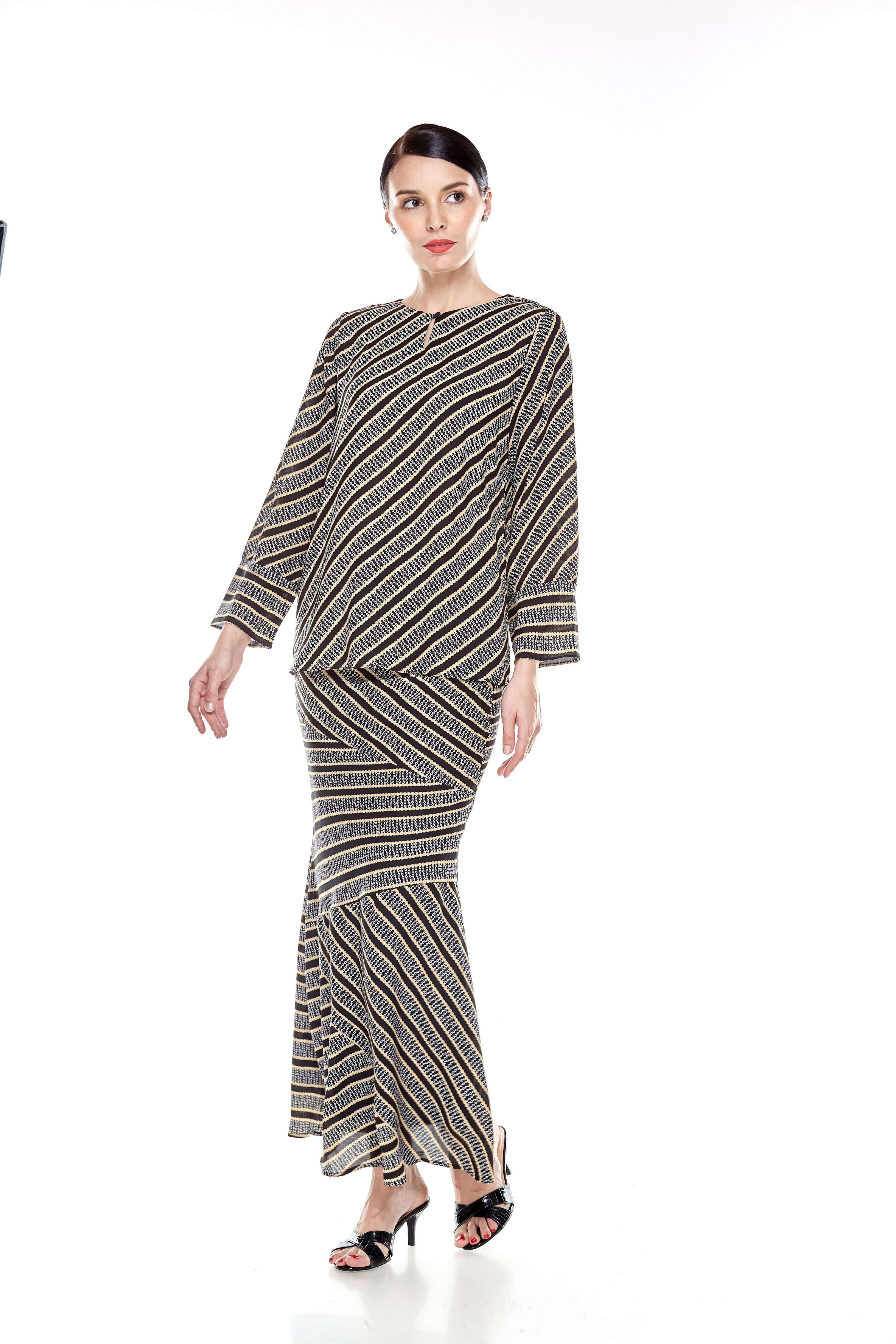 Black Striped Blouse (2)