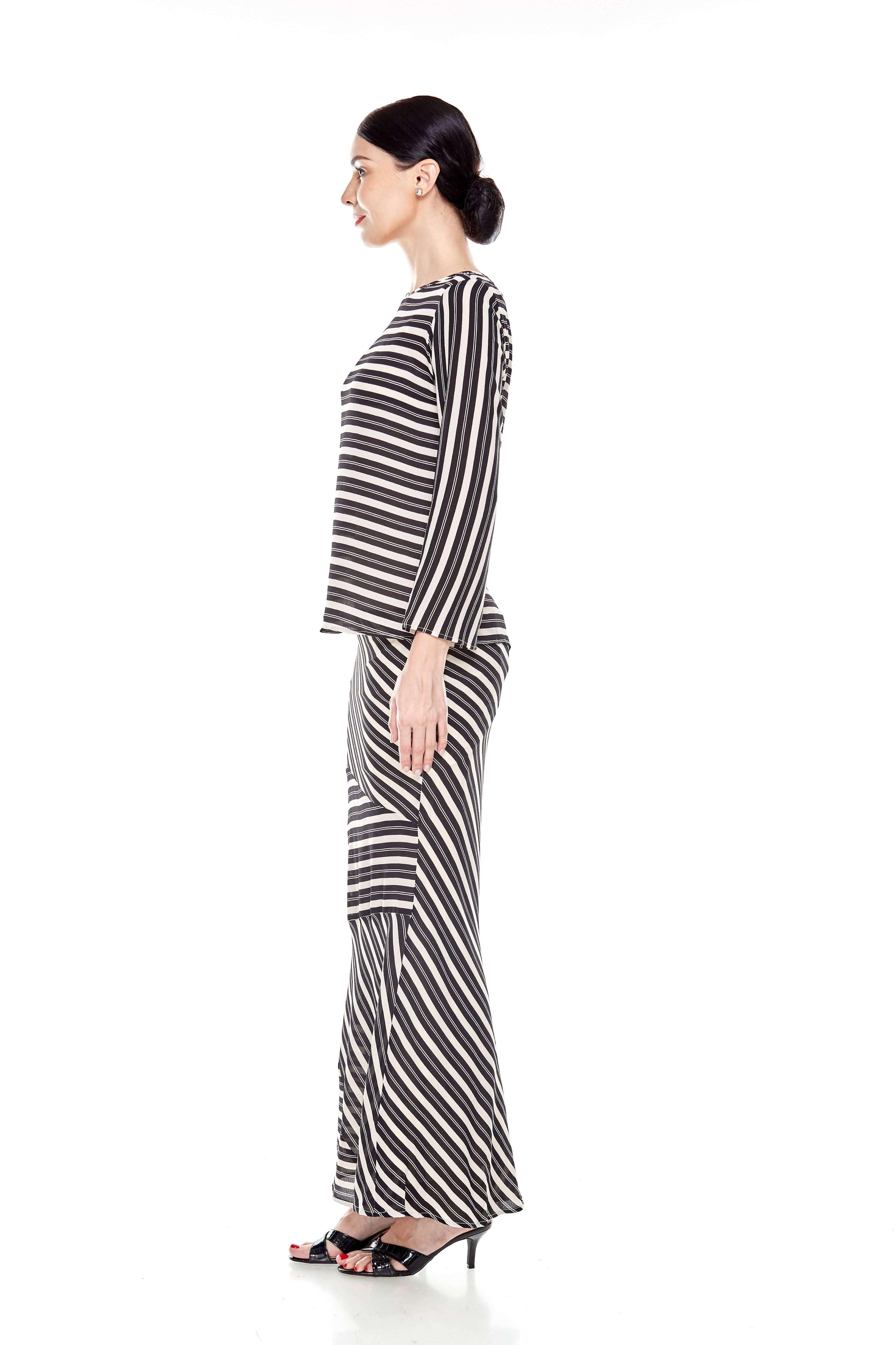 Black Striped Blouse (4)