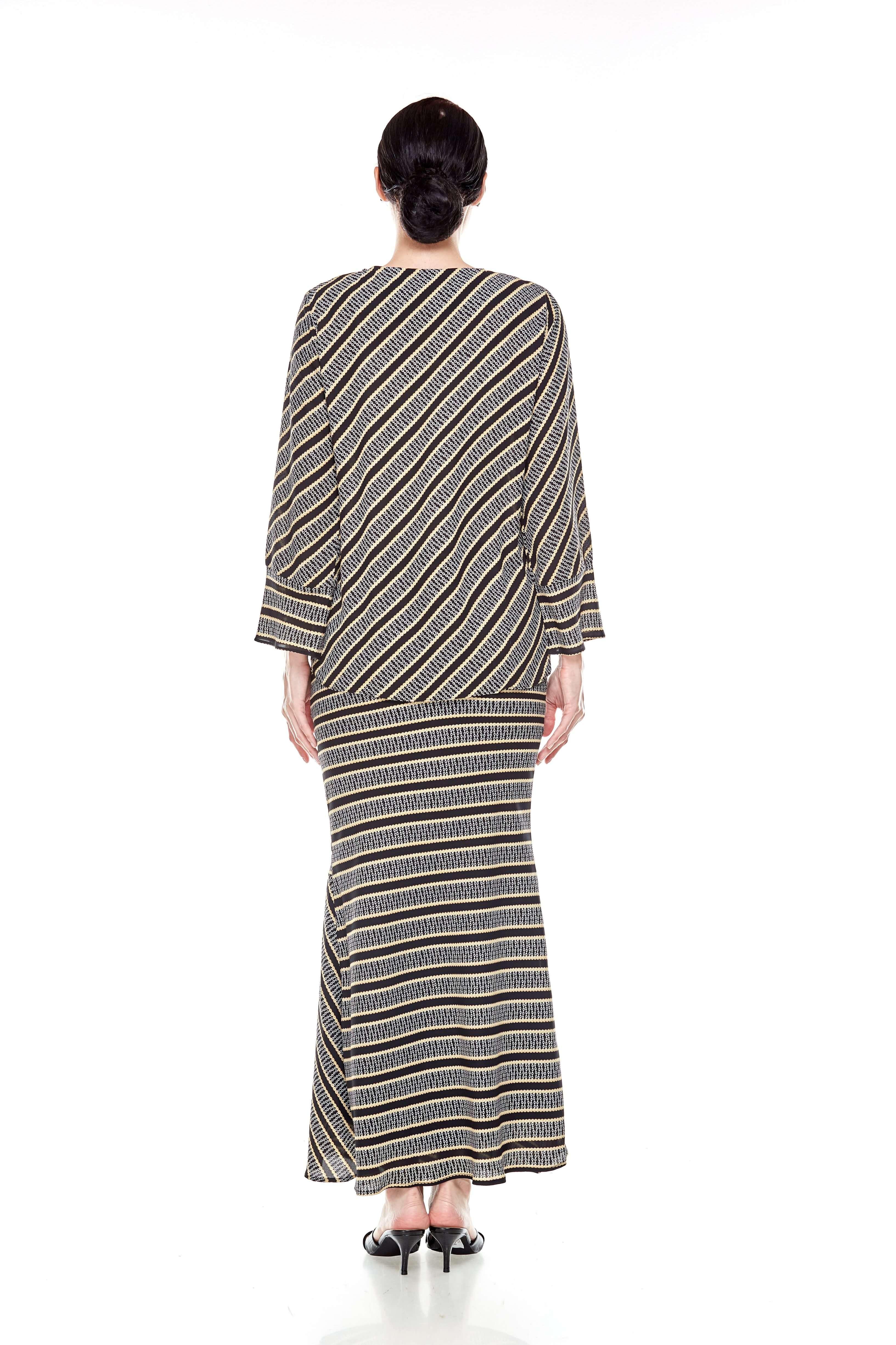 Black Striped Blouse (7)