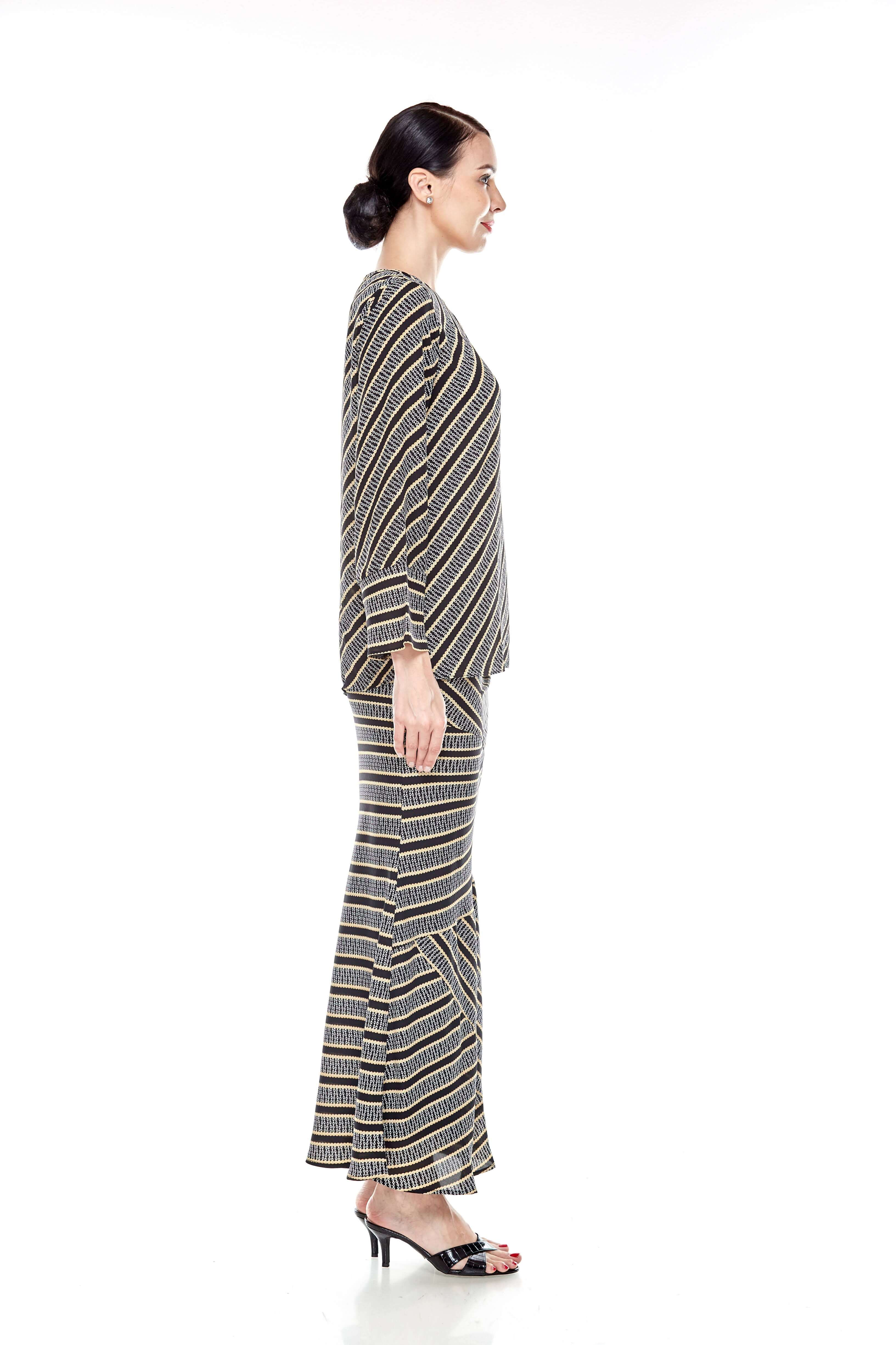 Black Striped Blouse (8)