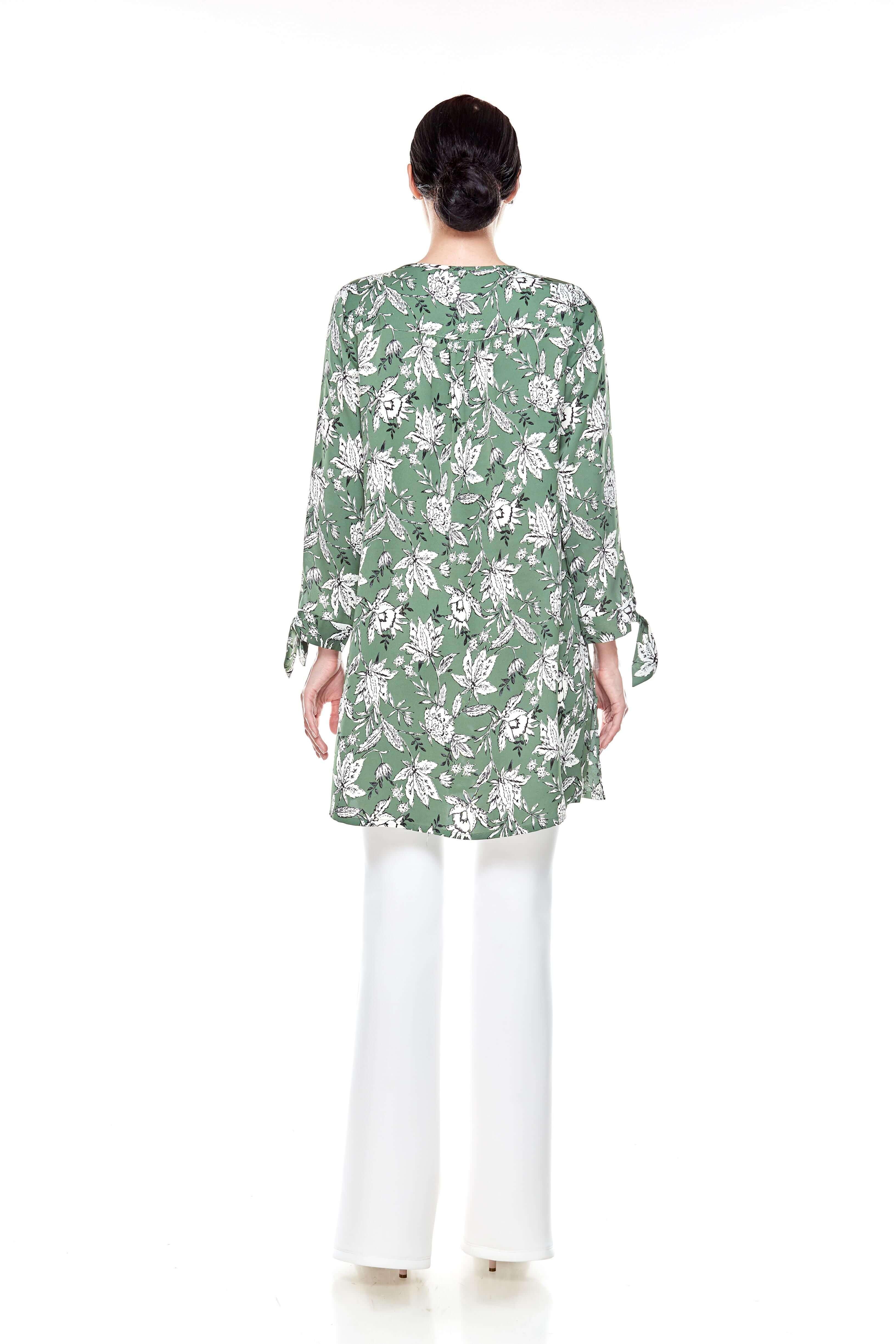 Green Printed Tunic (6)