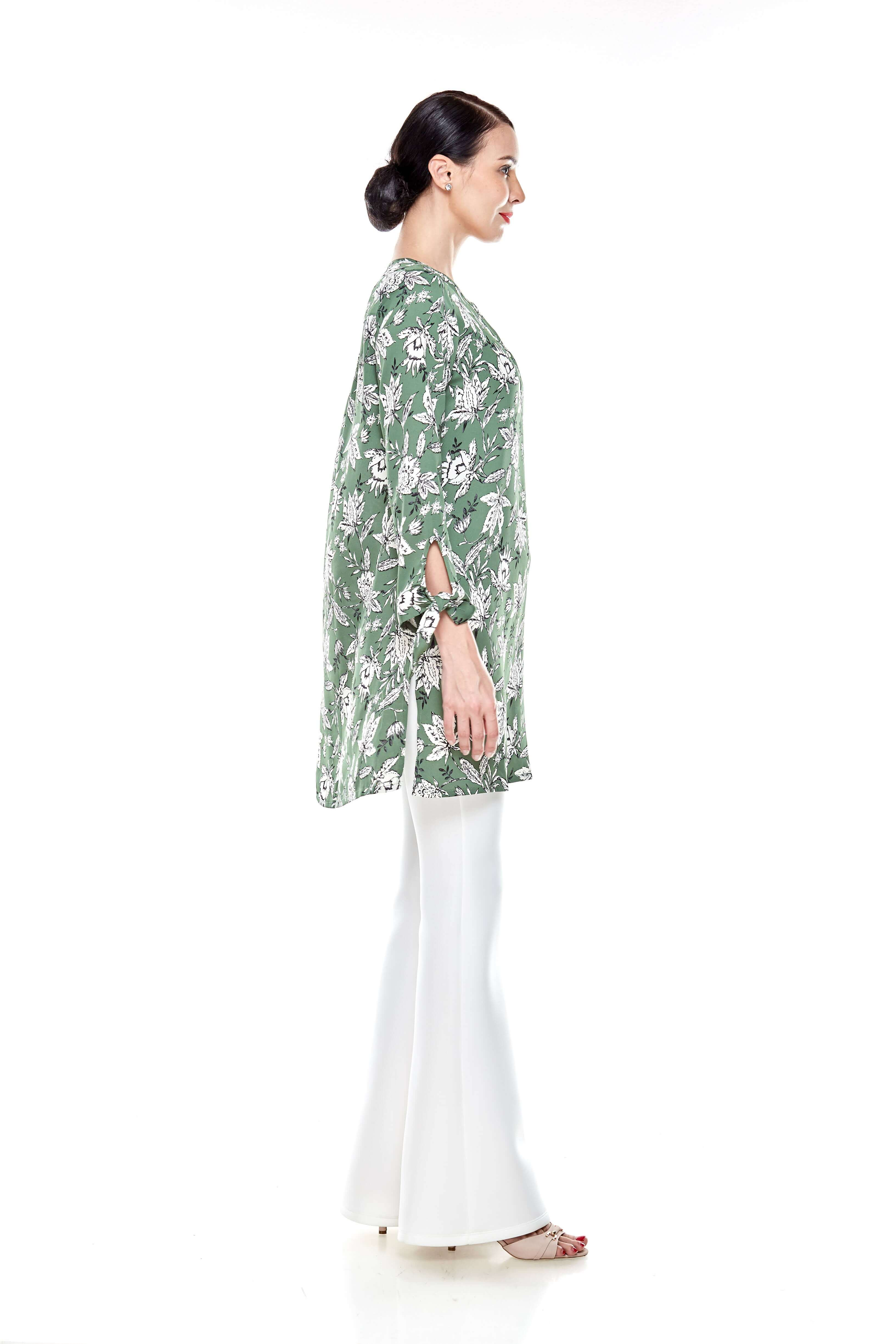 Green Printed Tunic (7)