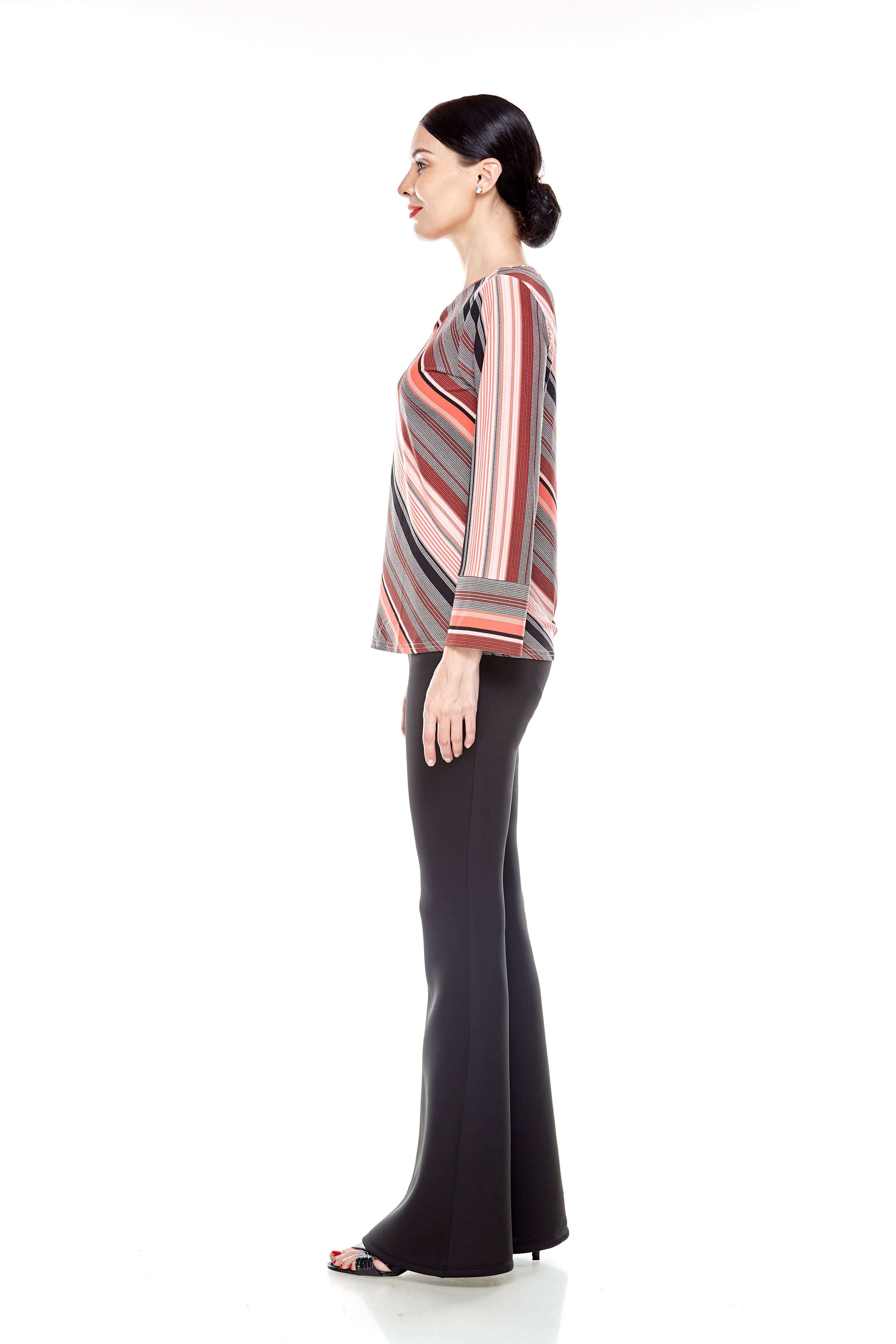 Jersey Stripe Blouse (4)