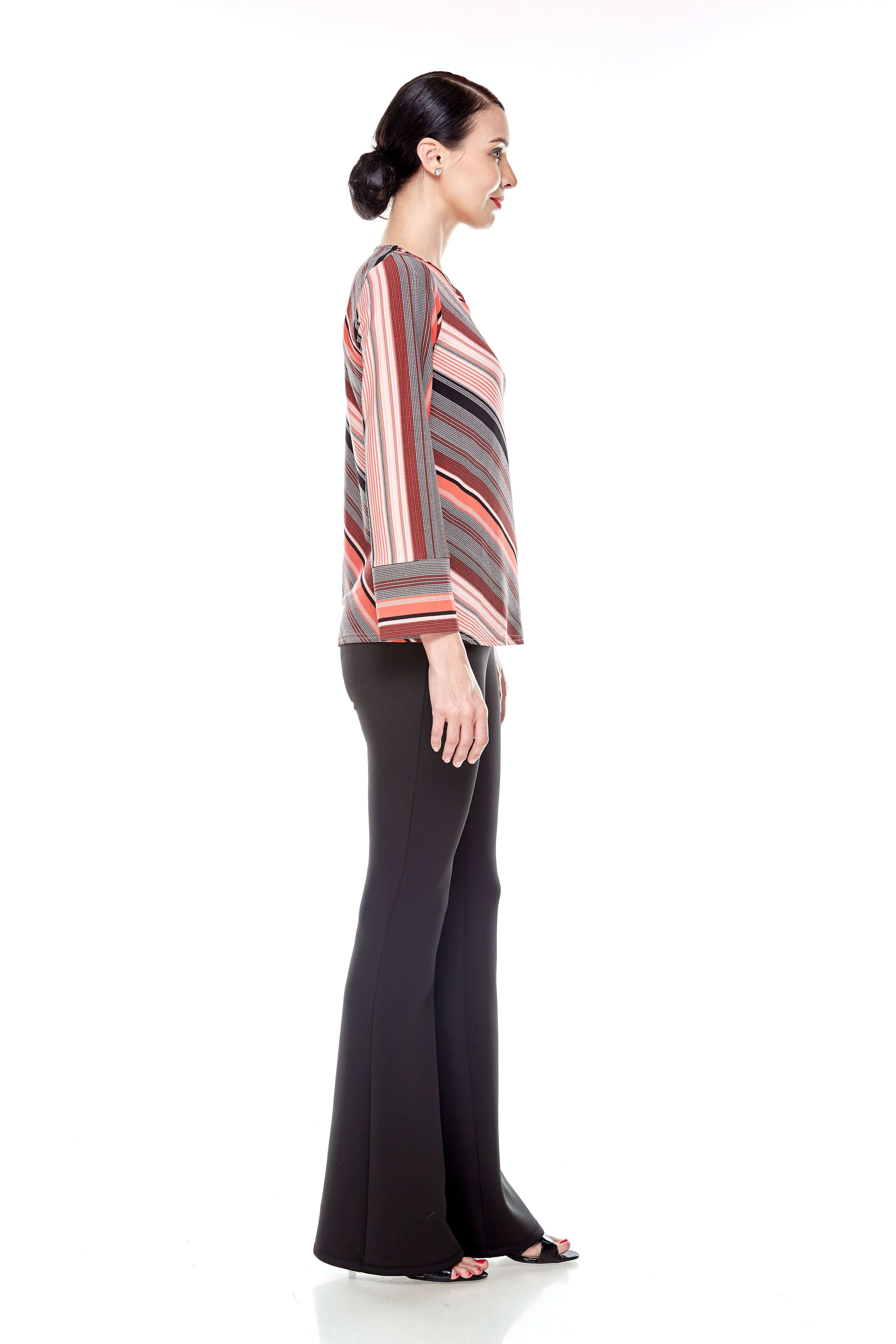 Jersey Stripe Blouse (6)