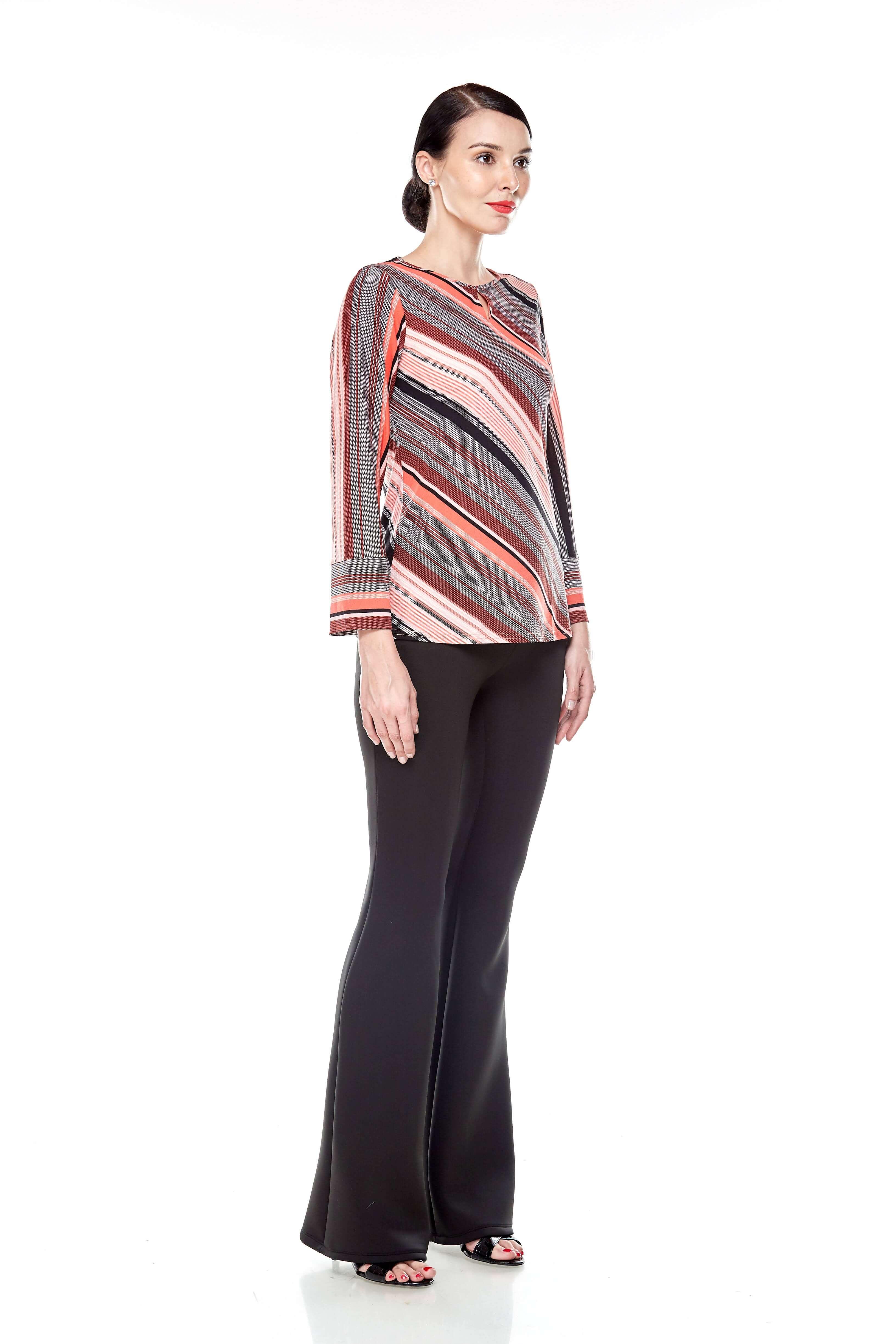 Jersey Stripe Blouse (7)