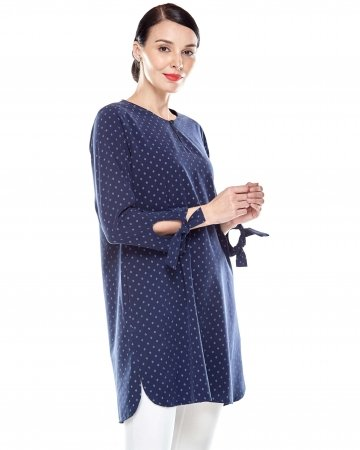 Mosaic Blue Printed Tunic