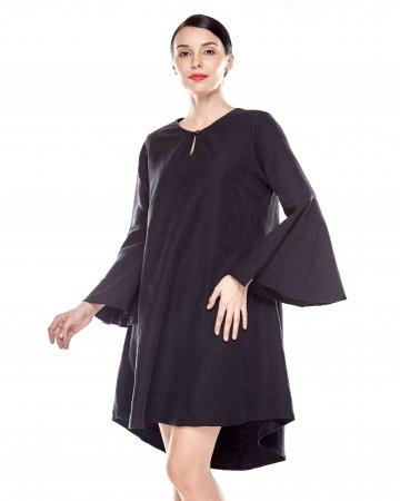 Black Flowy Tunic