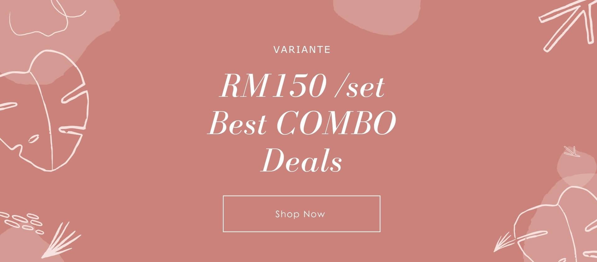 Combo deals banner