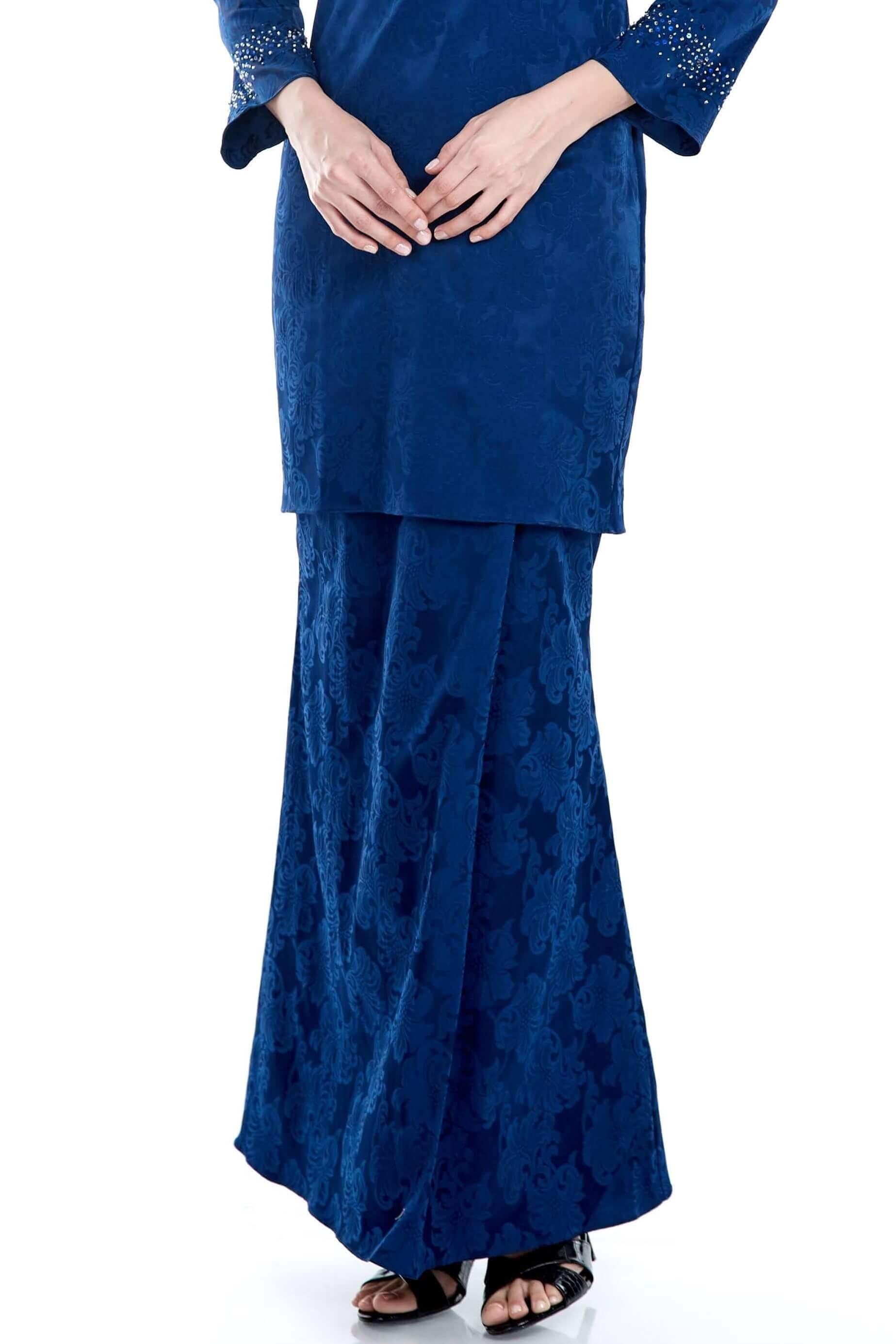 Navy Mermaid Skirt (6)