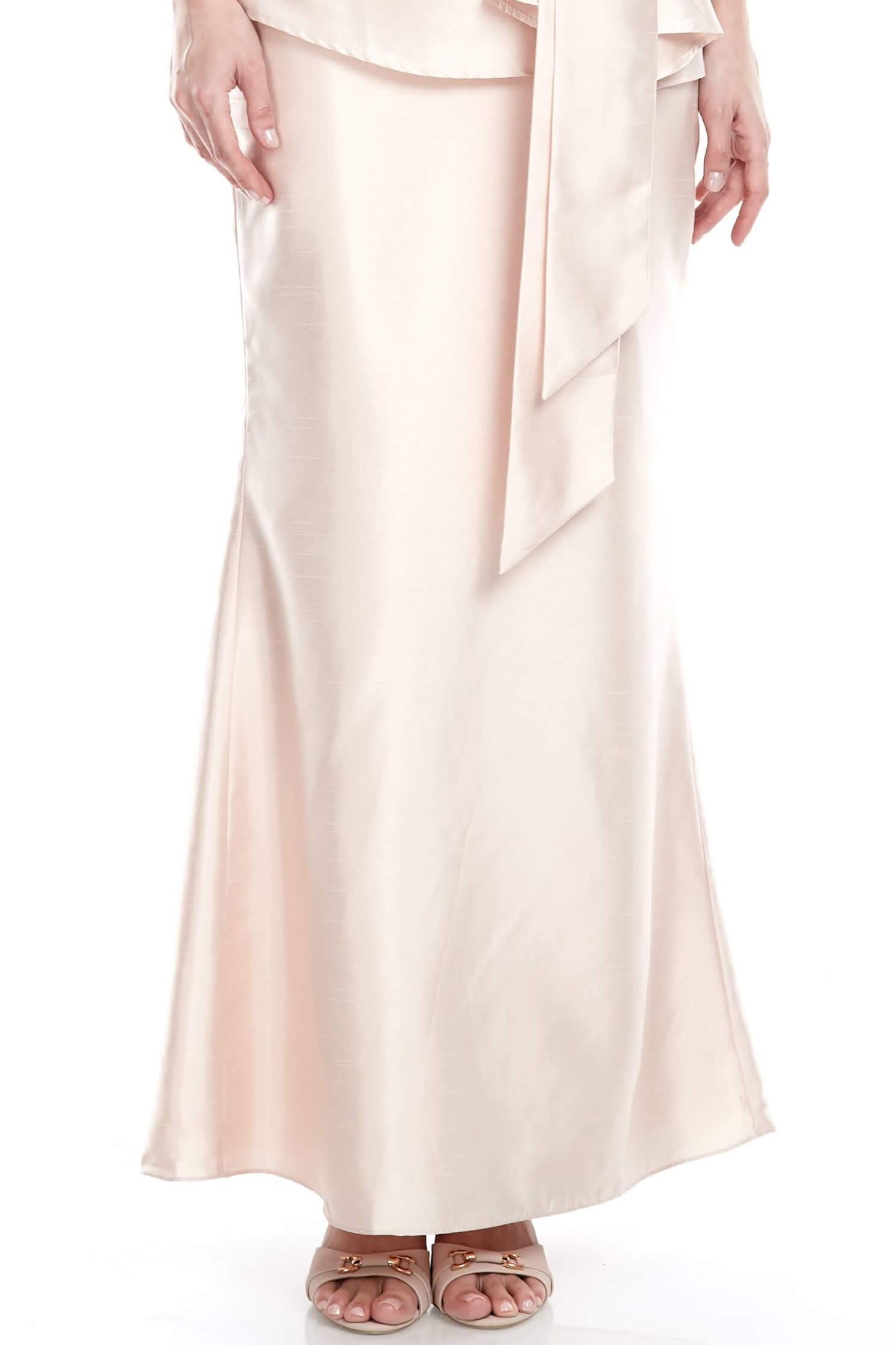 Peach Mermaid Skirt (3)
