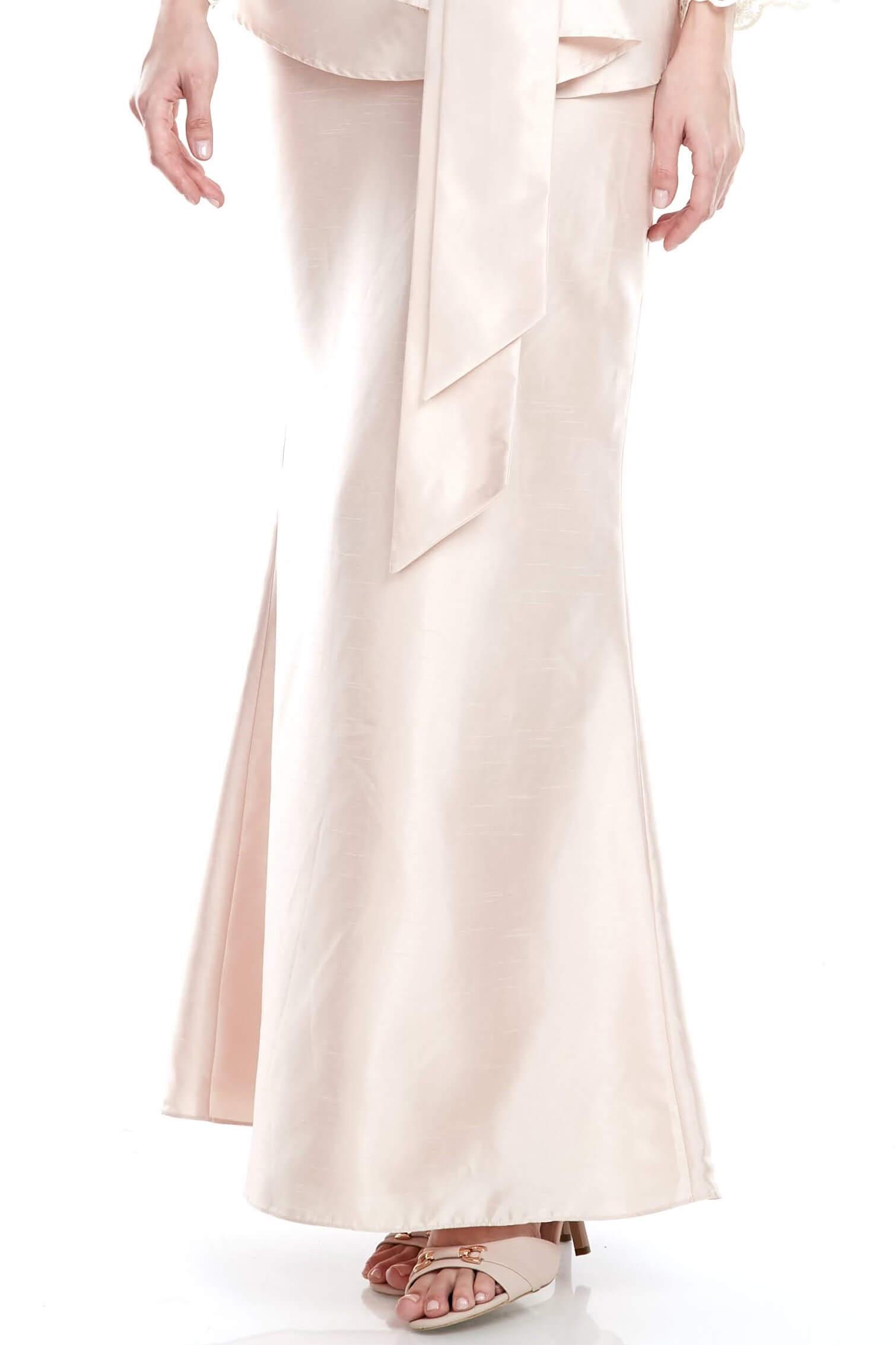Peach Mermaid Skirt (4)