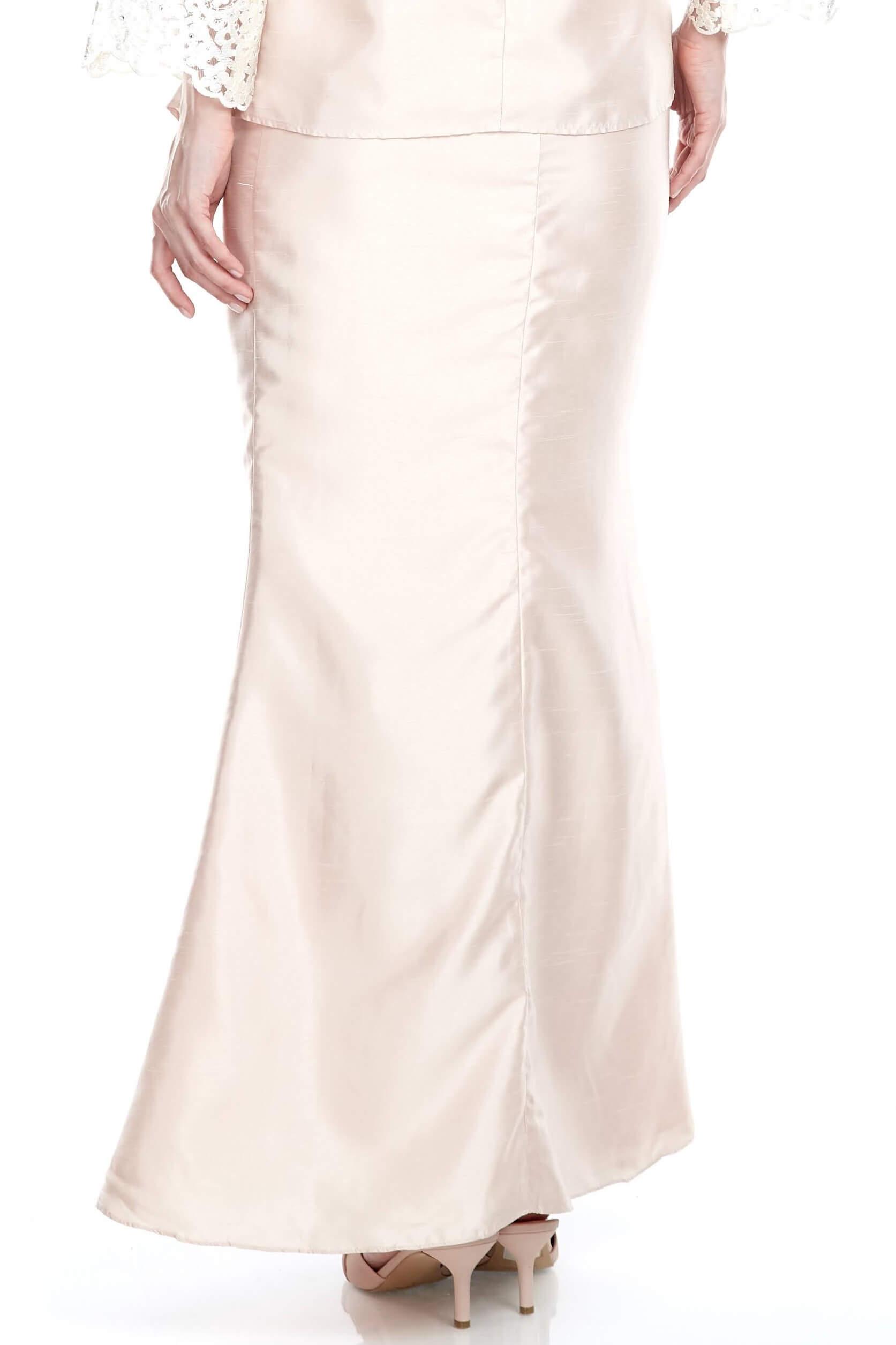 Peach Mermaid Skirt (5)