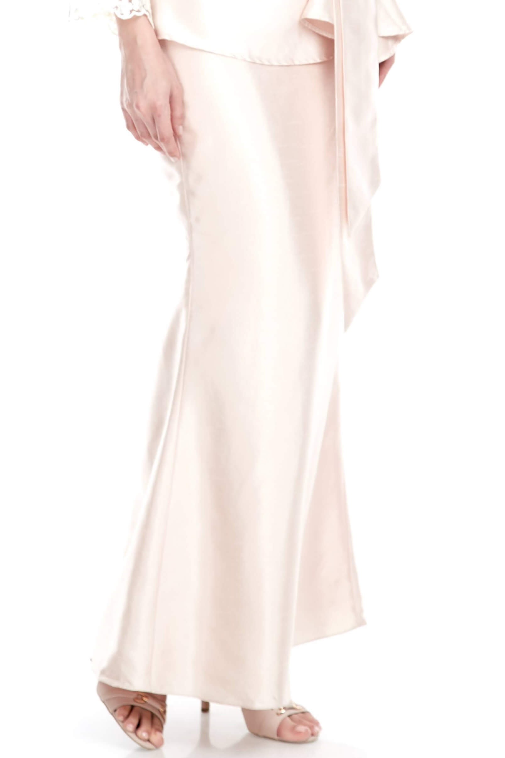 Peach Mermaid Skirt (6)