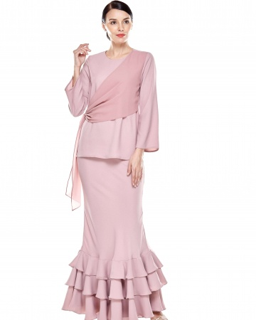 Rose Dawn Pink Sash Blouse