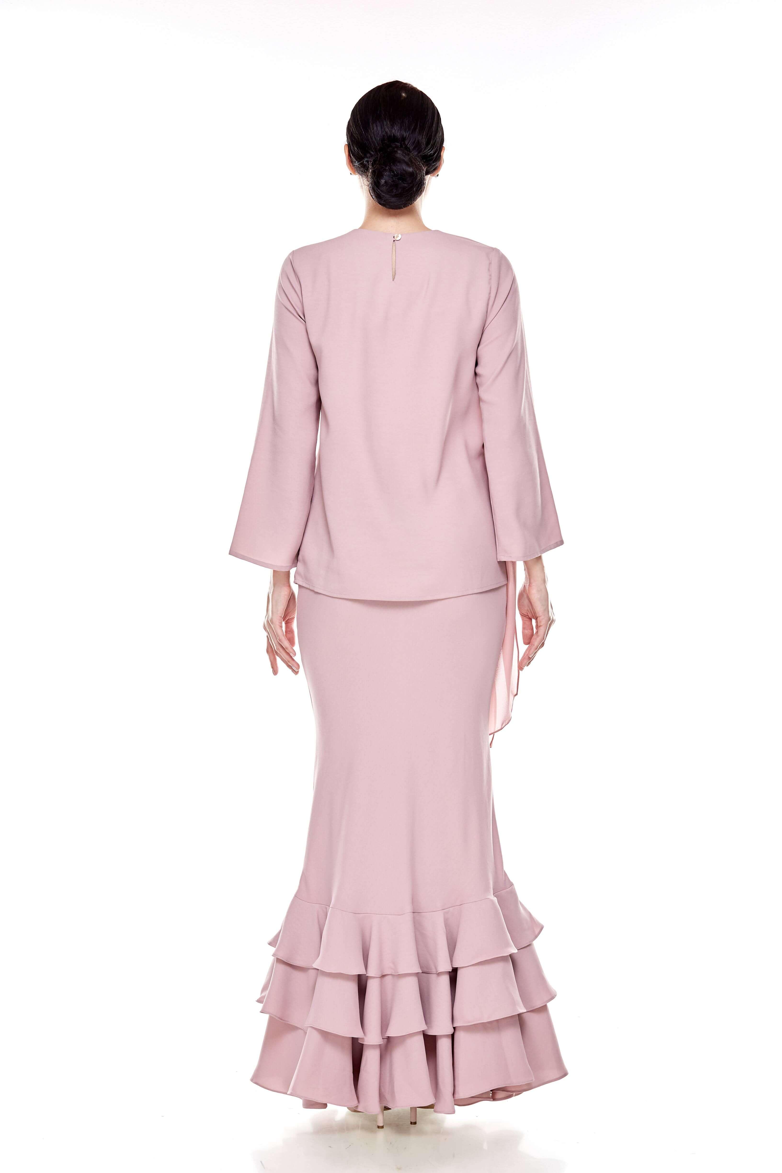 Rose Dawn Pink Sash Blouse (6)