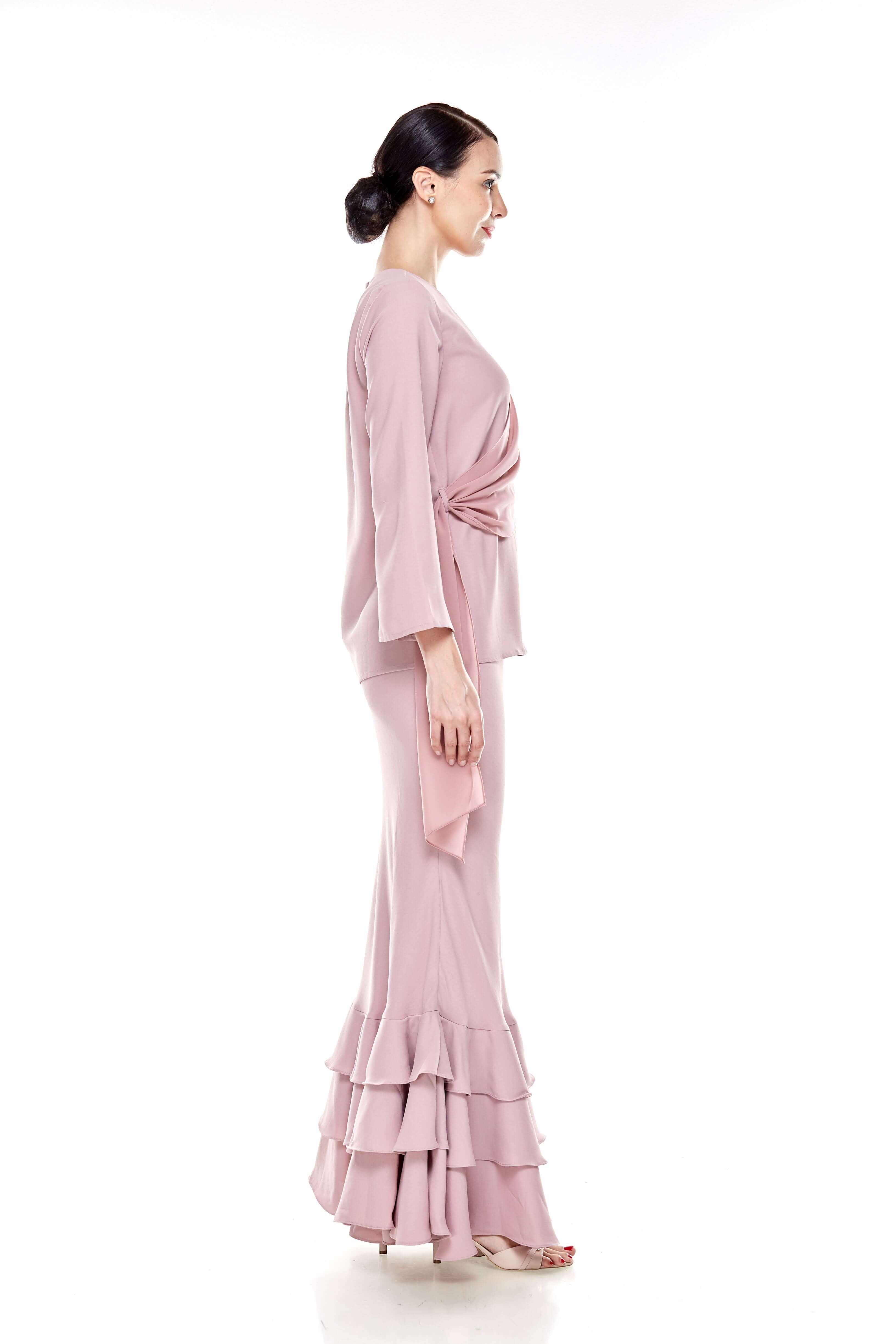 Rose Dawn Pink Sash Blouse (7)