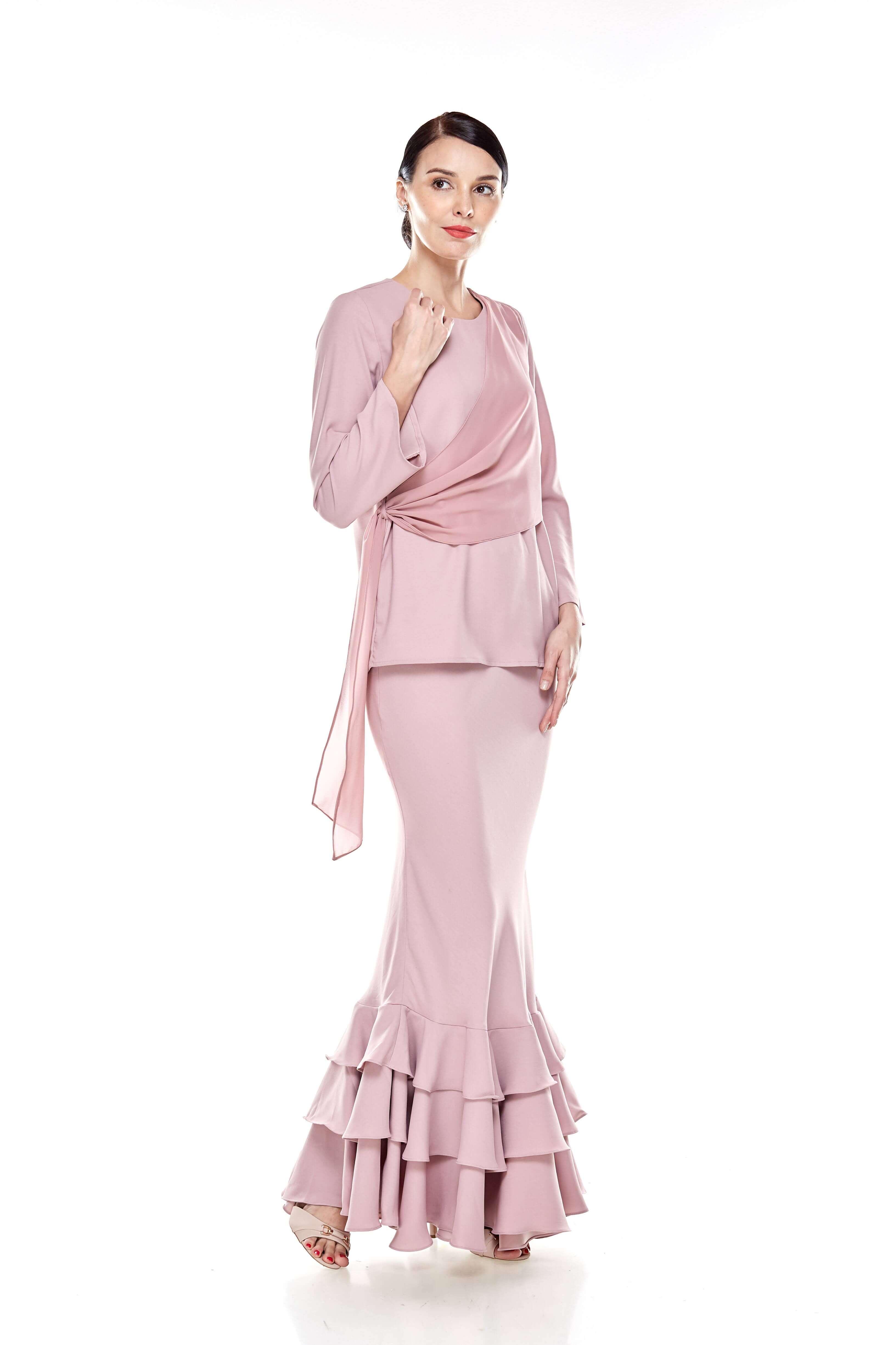 Rose Dawn Pink Sash Blouse (9)