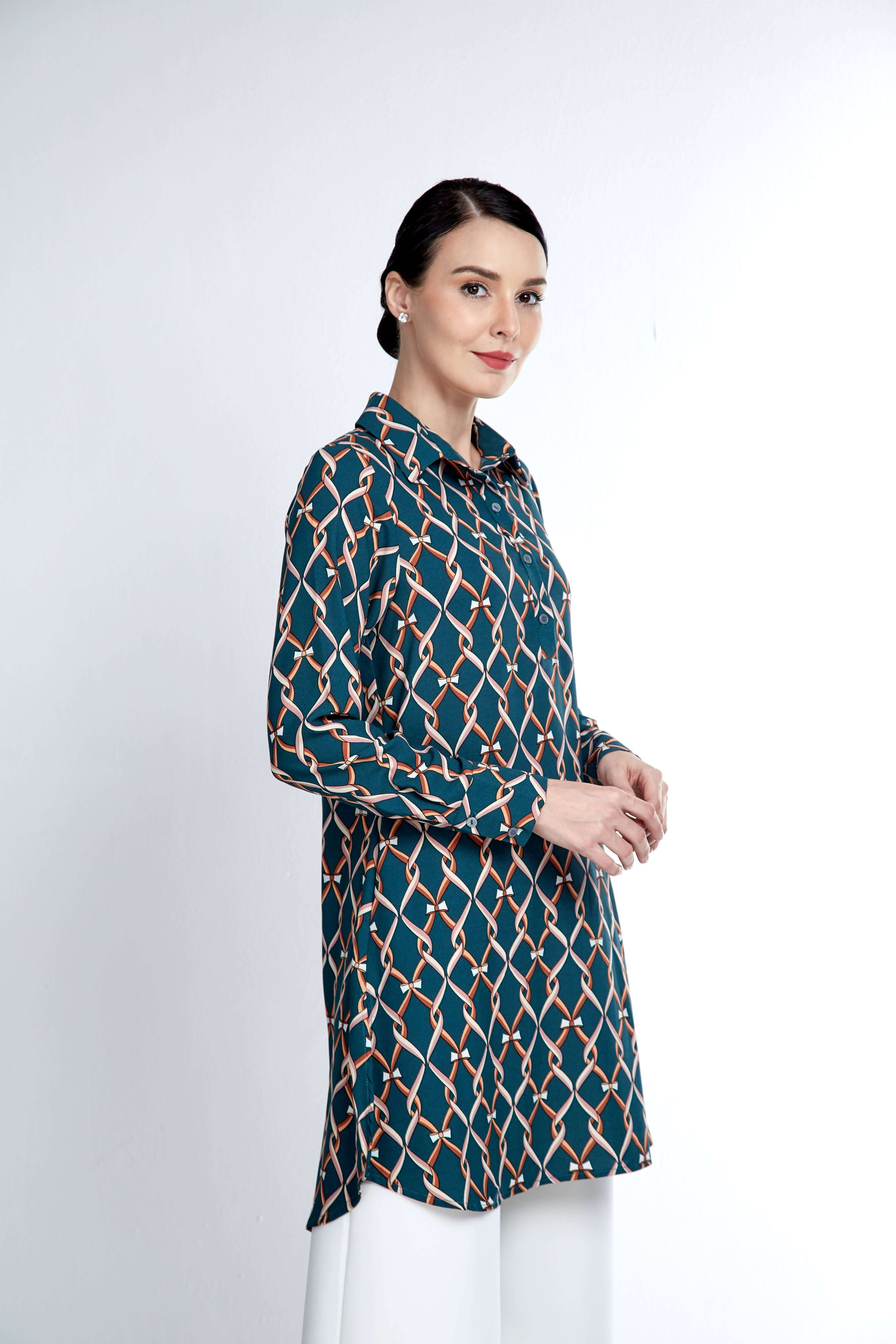 Bianca Green Tunic