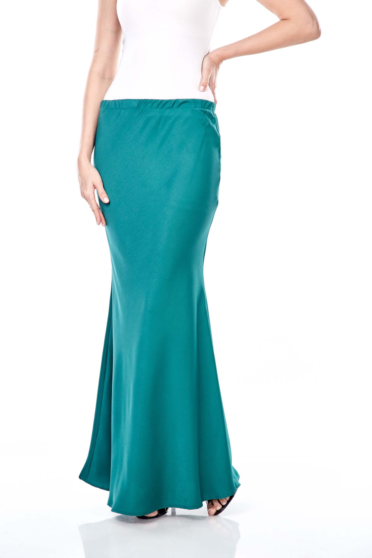 Brinda Green Skirt 4