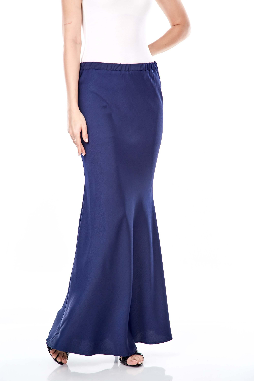 Brinda Navy Skirt