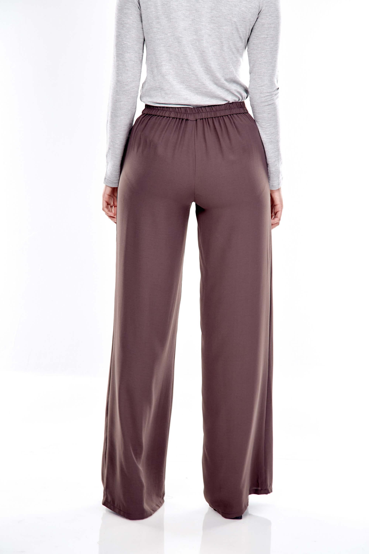 Brown Wide Leg Pants 3