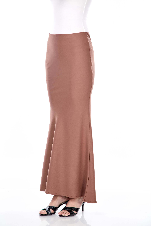 Dinda Brown Skirt 2