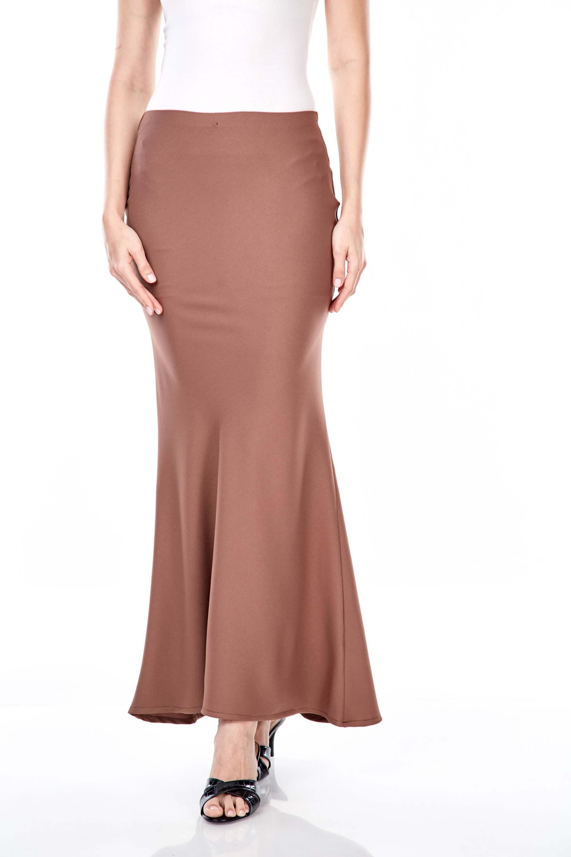 Dinda Brown Skirt