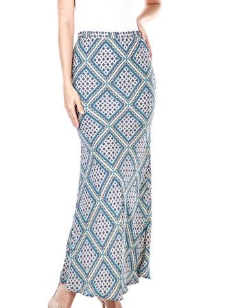 Dyna Pastel Printed Skirt