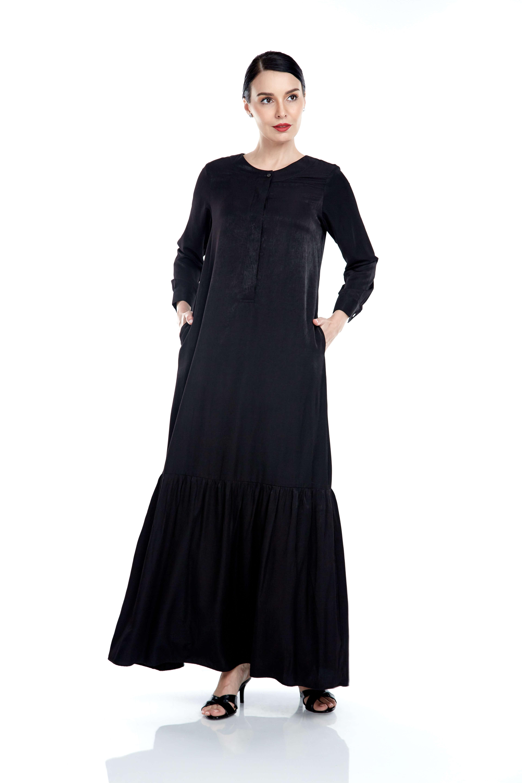 Laila Black Dress
