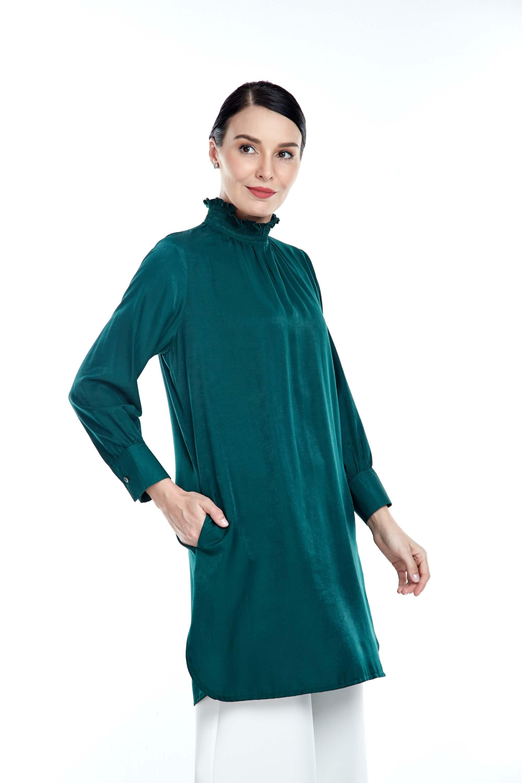 Sarra Green Tunic 4