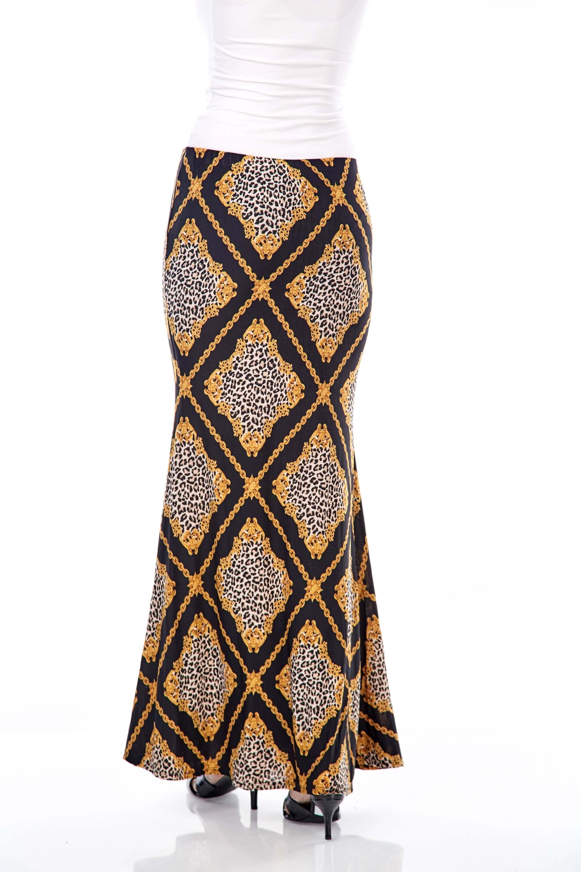 Wilda Black Chain Skirt 2