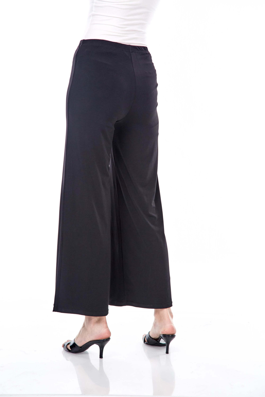 Yaina Black Wide Leg Pants 2