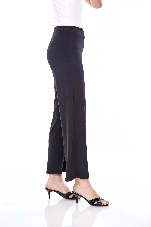 Yaina Black Wide Leg Pants 3