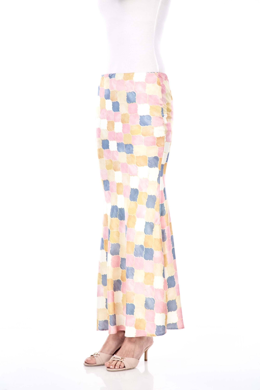 Yasmin Yellow Printed Skirt 2