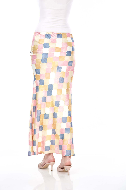 Yasmin Yellow Printed Skirt 3