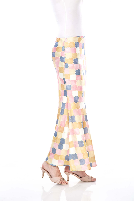 Yasmin Yellow Printed Skirt 4