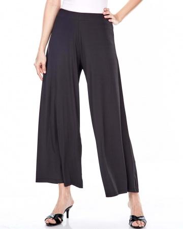 Dayra Black Palazo Pants