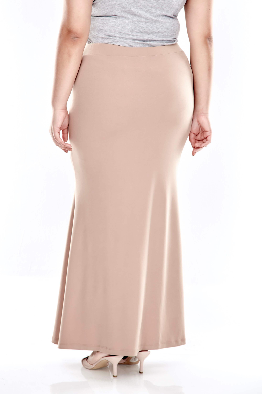 Khaki Long Skirt 2