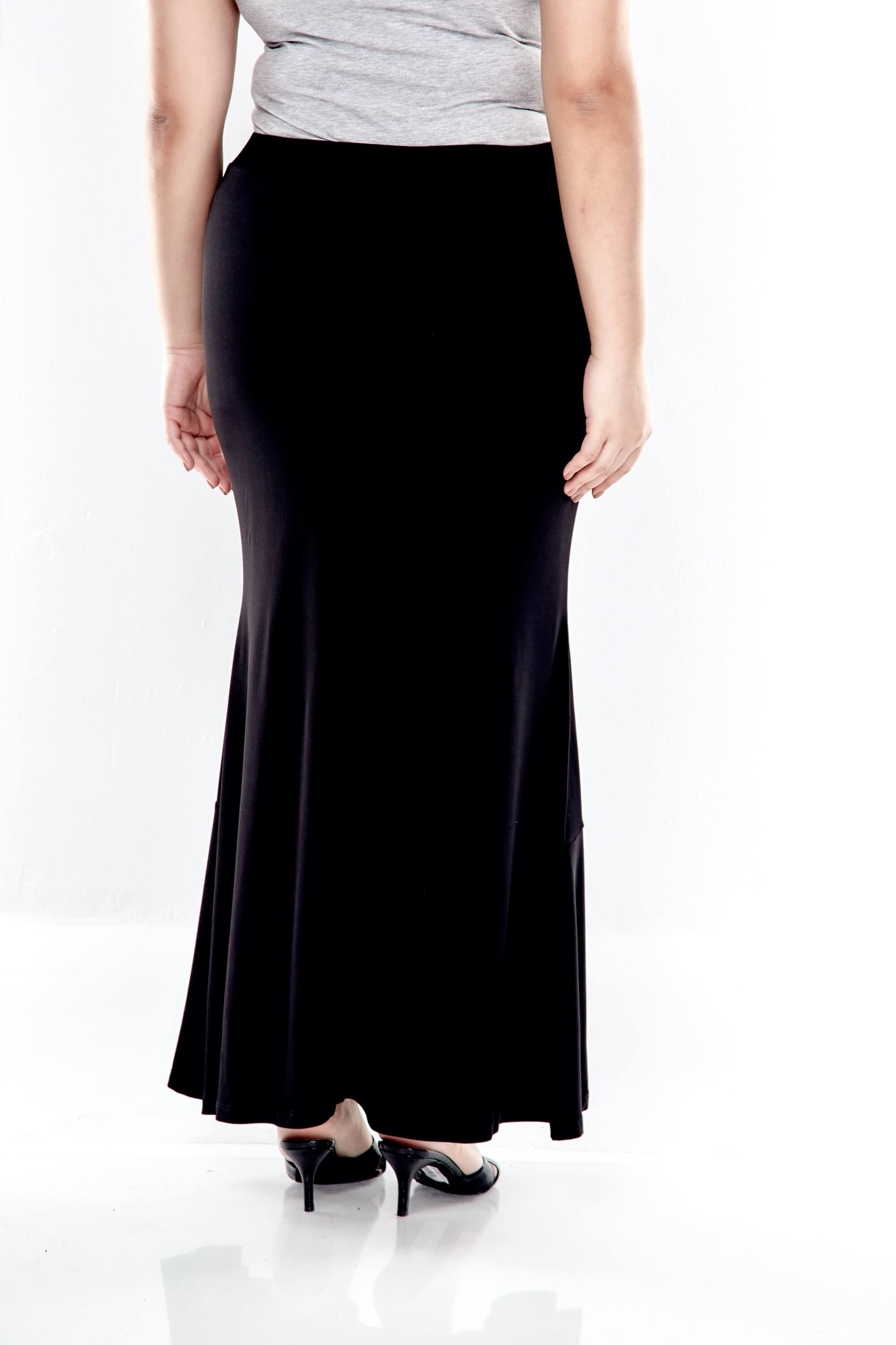 Long Skirt With Bottom Flares 2