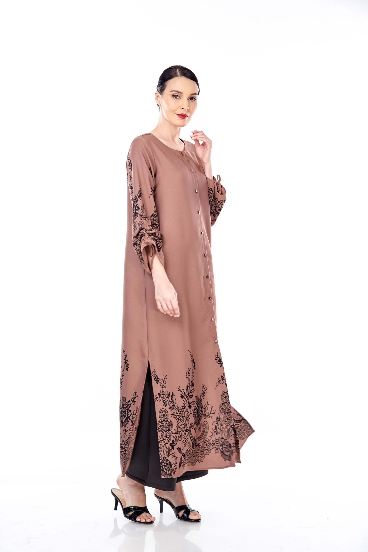 Marcella Cinnamon Border Dress 3