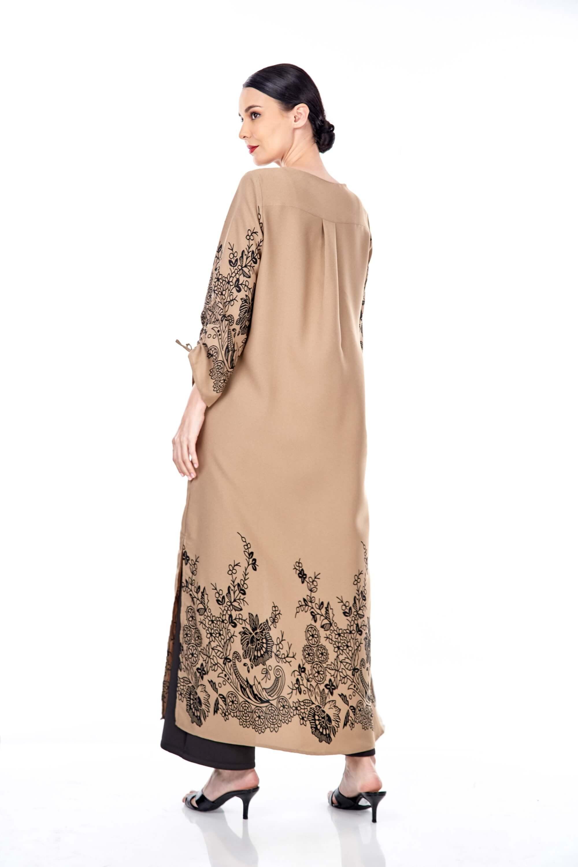 Marcella Coffea Border Dress 1
