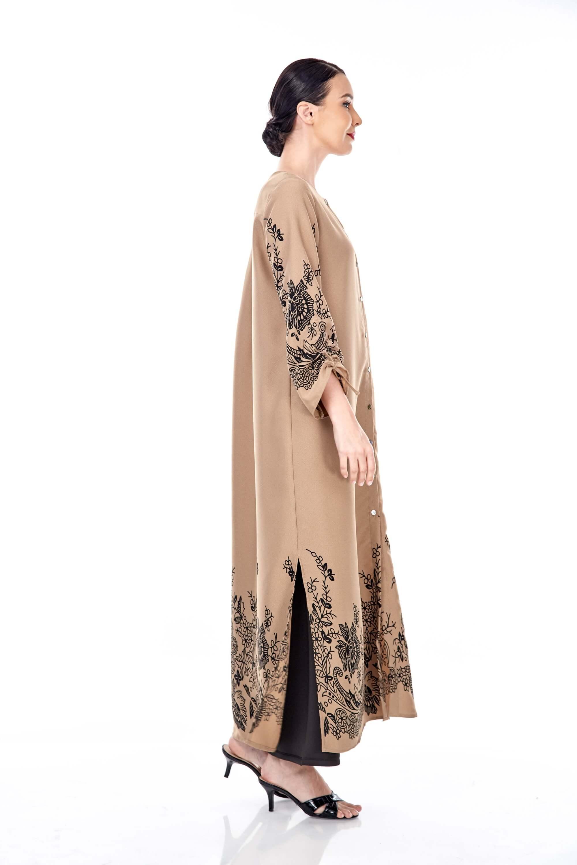 Marcella Coffea Border Dress 2