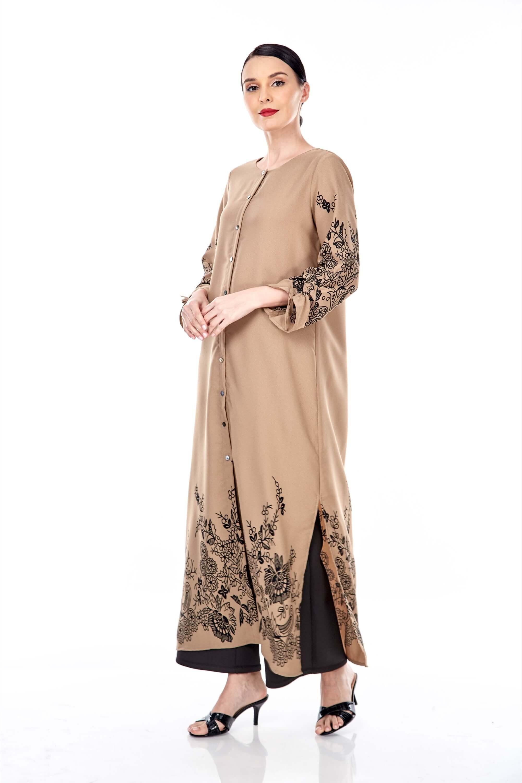 Marcella Coffea Border Dress 3