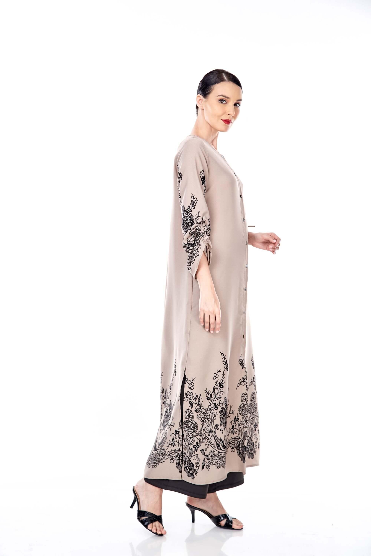 Marcella Sand Border Dress 2