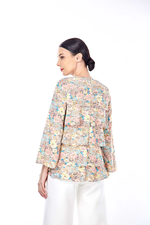 Nerra Floral Printed Blouse 2