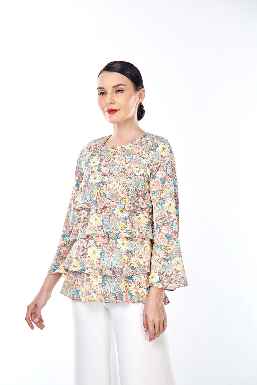 Nerra Floral Printed Blouse 4
