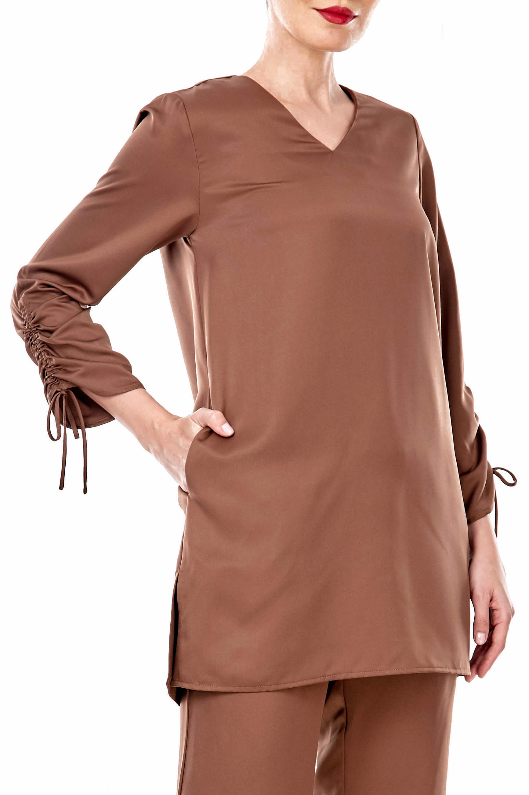 Rayqa Brown Blouse 1