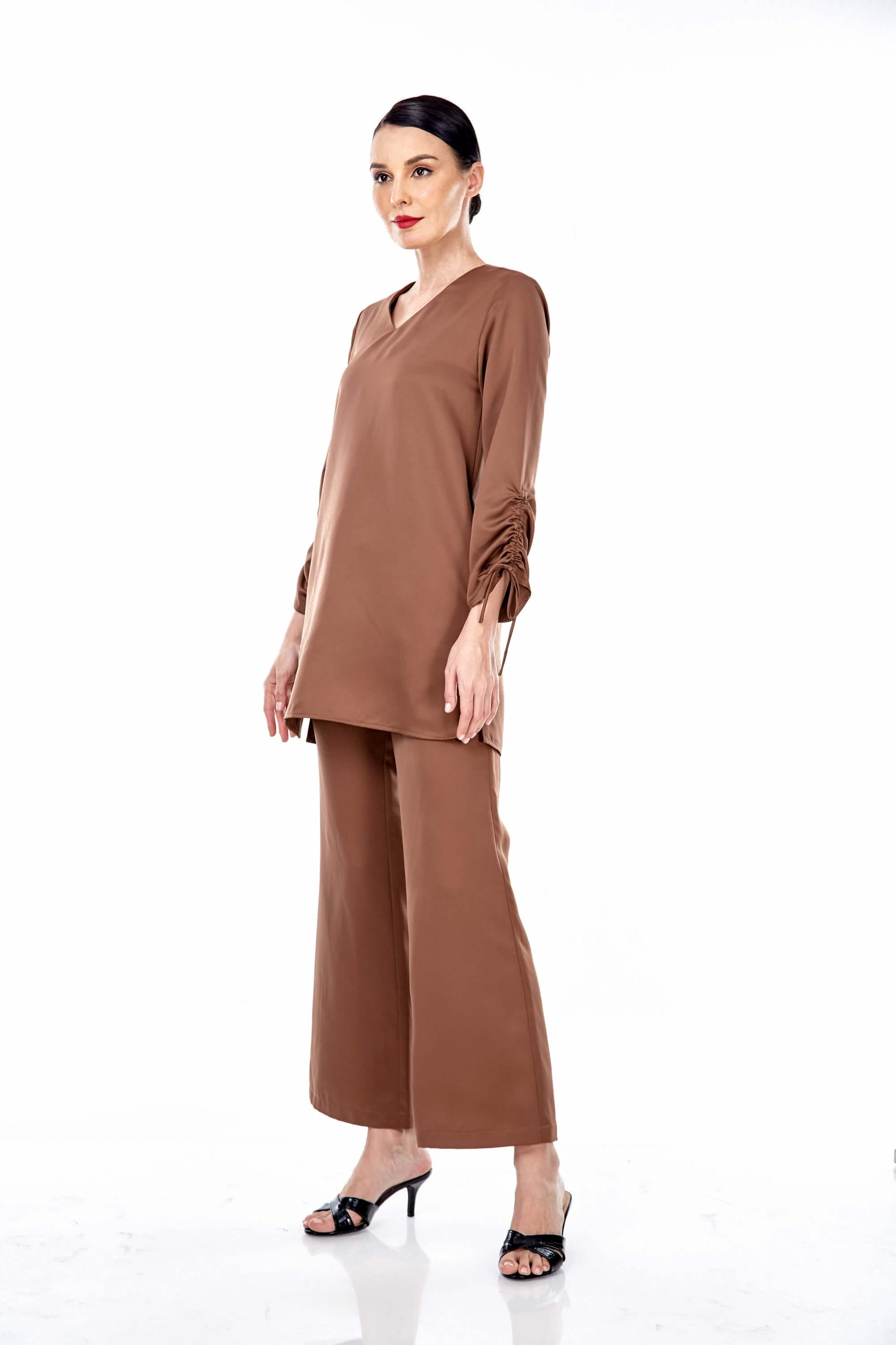Rayqa Brown Blouse 3