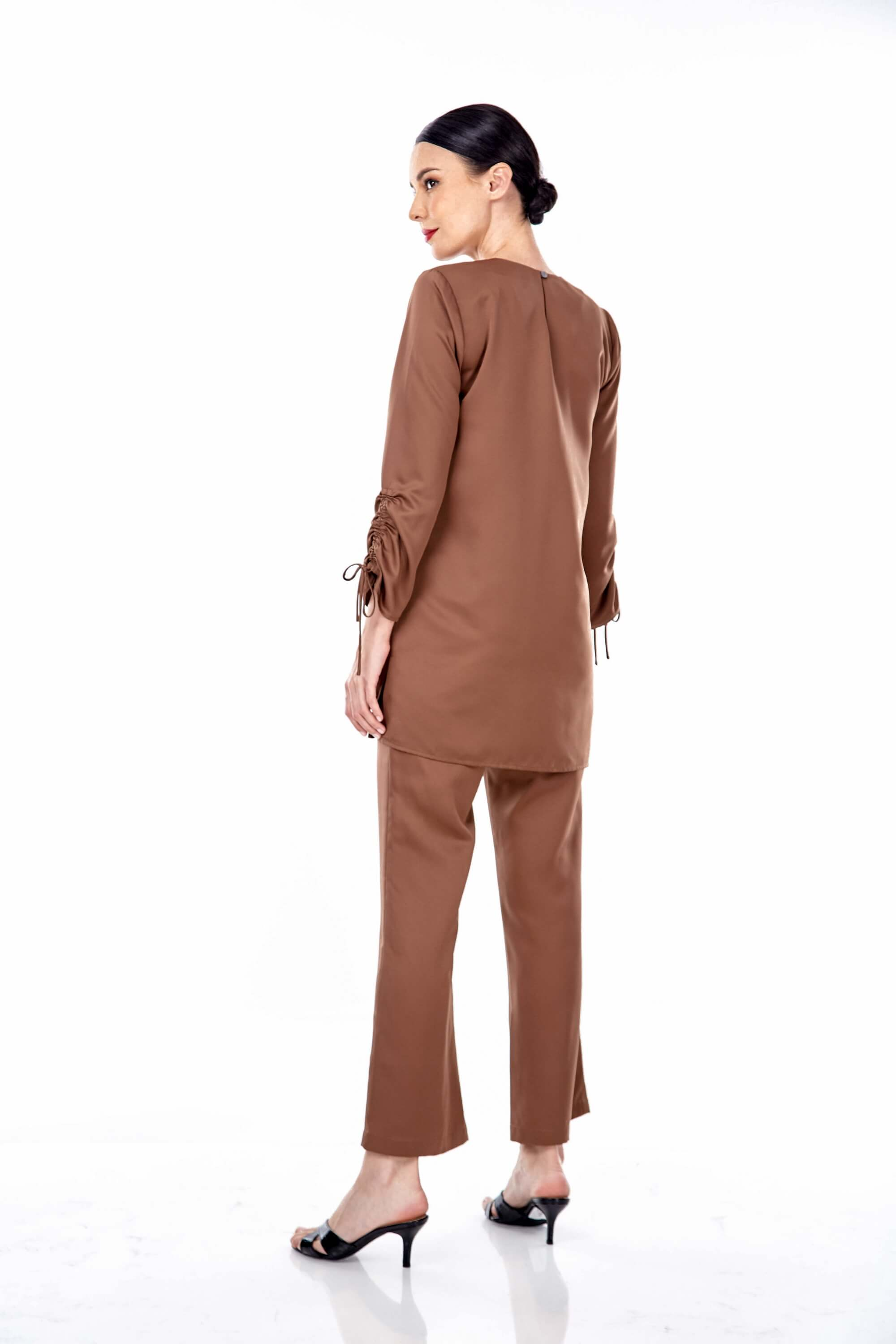 Rayqa Brown Blouse 4